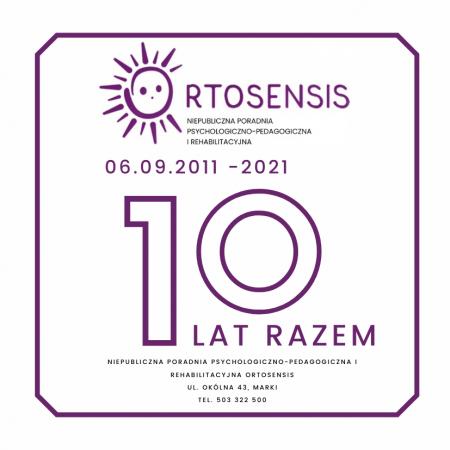 10 lat Ortosensis